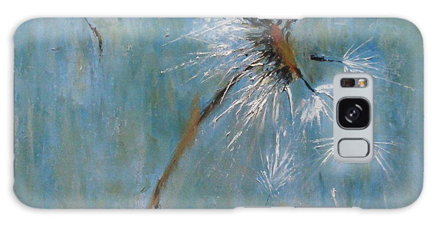 Landscape Galaxy Case featuring the painting Wishes by Barbara Andolsek