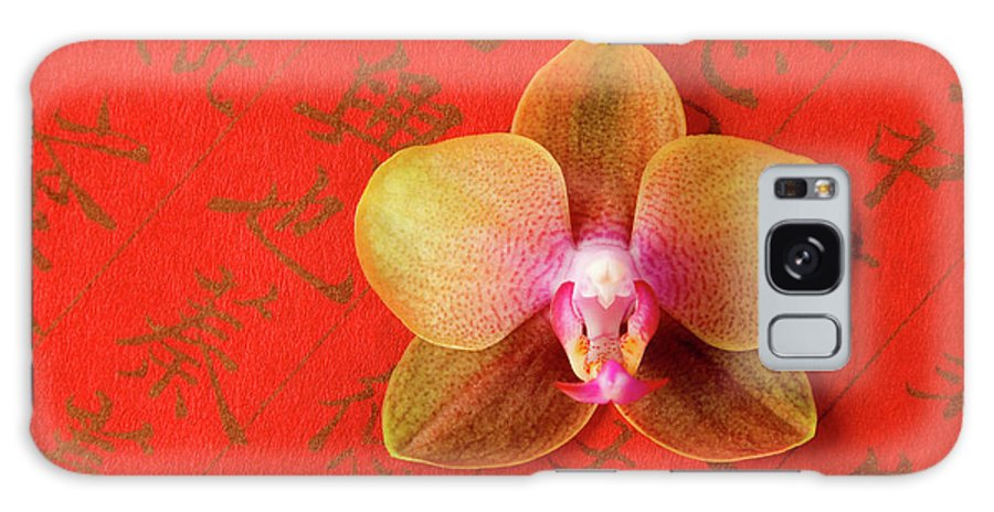Orchid Galaxy Case featuring the photograph Wishes Come True by Julia Hiebaum