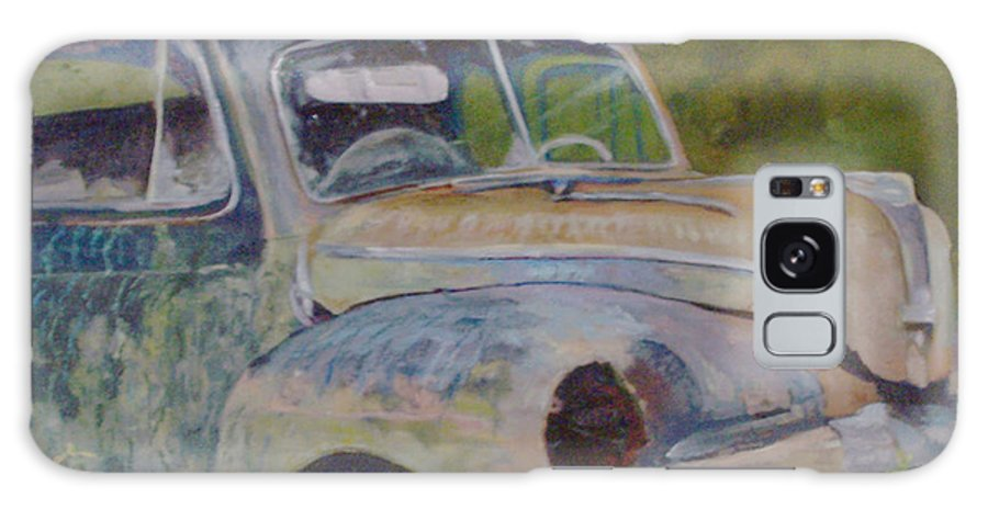 Vintage Galaxy S8 Case featuring the painting Wistful In Winchendon by Alicia Drakiotes