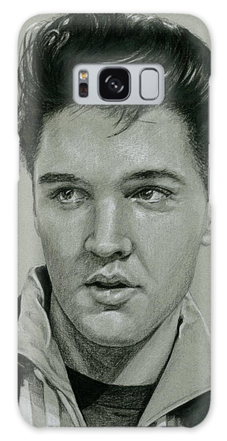 Elvis Galaxy S8 Case featuring the drawing Witchcraft by Rob De Vries