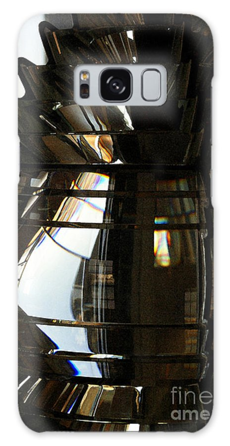 Lighthouse Galaxy S8 Case featuring the photograph Within The Rings Of Lenses And Prisms - Water Color by Linda Shafer