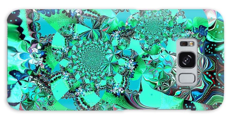 Digital Galaxy S8 Case featuring the digital art Wonderland by Beth Aragon