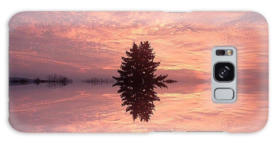 Poconos Galaxy S8 Case featuring the photograph Wondrous Clouds    by Christina Verdgeline