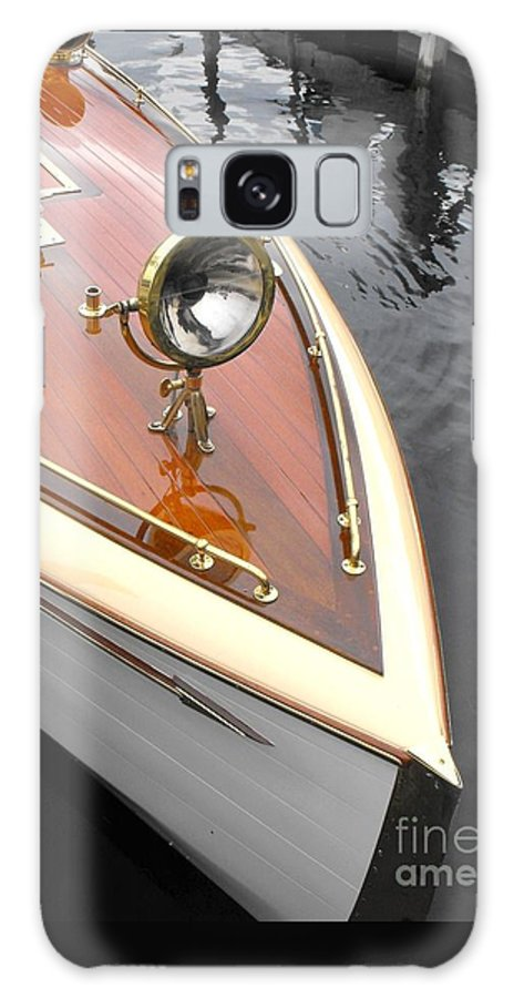 Wooden Boat Galaxy S8 Case featuring the photograph Wooden Launch by Neil Zimmerman