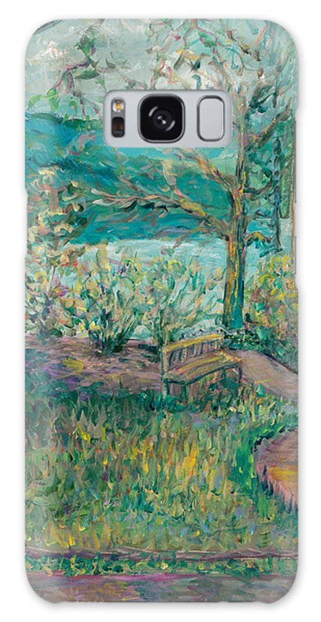 Big Cedar Lodge Galaxy S8 Case featuring the painting Worman House At Big Cedar Lodge by Nadine Rippelmeyer