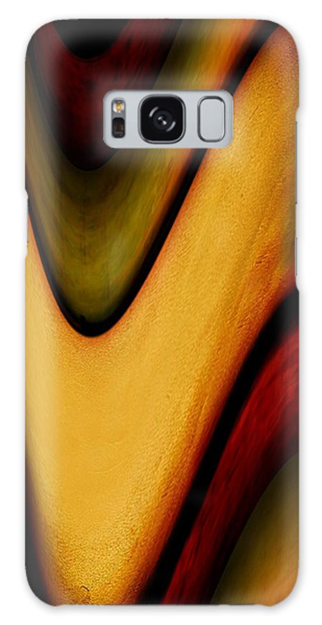 Wrapped Galaxy S8 Case featuring the painting Wrapped by Jill English