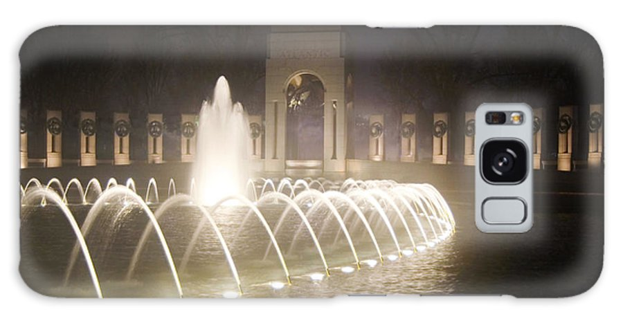 Ww 2 Galaxy S8 Case featuring the photograph Ww 2 Memorial Fountain by Francesa Miller