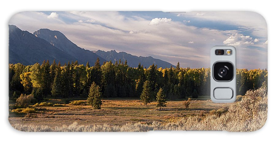 Jackson Hole Galaxy S8 Case featuring the photograph Wyoming Scenery One by Bob Phillips