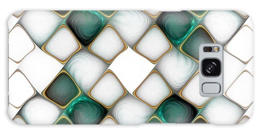 Digital Art Galaxy S8 Case featuring the digital art X Marks The Spot by Amanda Moore
