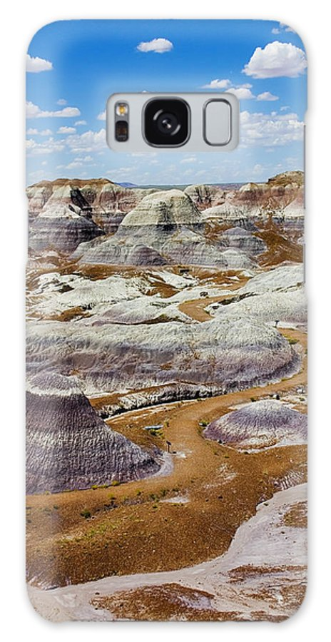 Painted Desert Galaxy Case featuring the photograph Yea Though I Walk by Skip Hunt