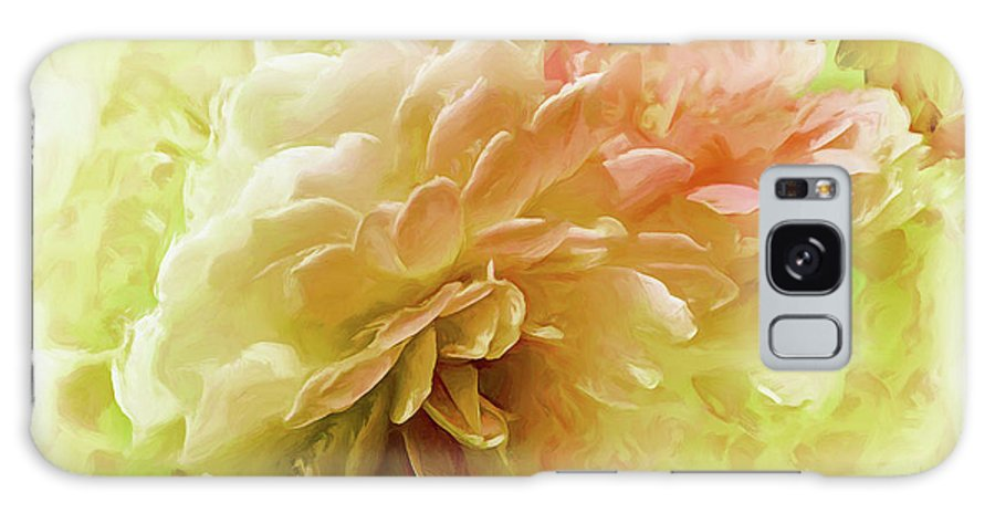 Flowers Galaxy S8 Case featuring the photograph Yellow And Pink Roses by Elaine Manley