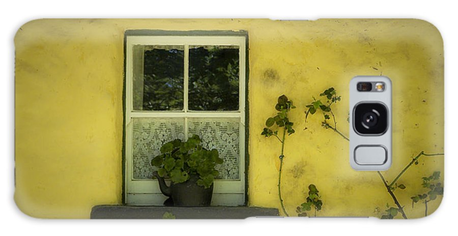 Irish Galaxy S8 Case featuring the photograph Yellow House County Clare Ireland by Teresa Mucha