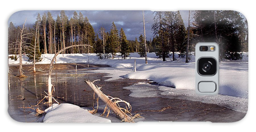 Usa Galaxy S8 Case featuring the photograph Yellowstone National Park by Thomas R Fletcher