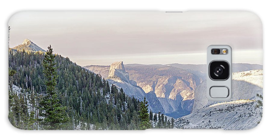 Yosemite Galaxy S8 Case featuring the photograph Yosemite Sunrise by Angie Schutt