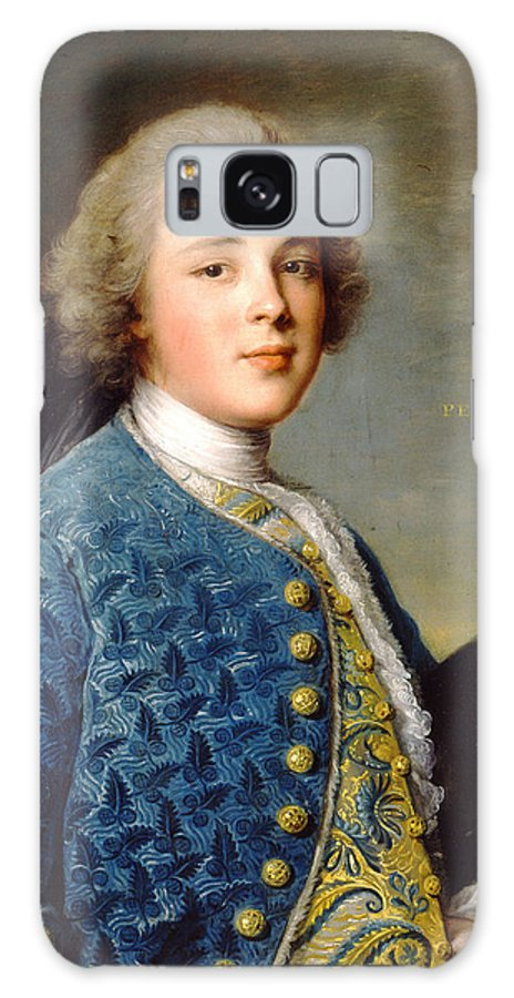 Jean-marc Nattier Galaxy S8 Case featuring the painting Young Boy Percy Wyndham by Jean