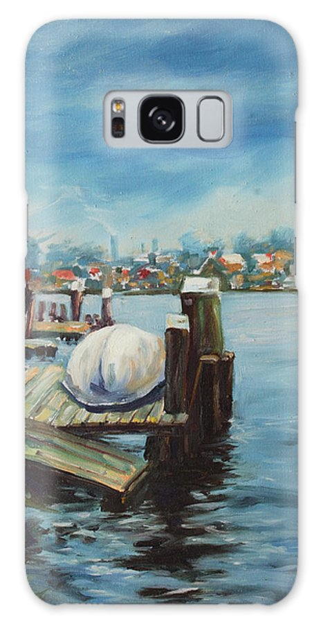 Water Galaxy Case featuring the painting Zaandam by Rick Nederlof