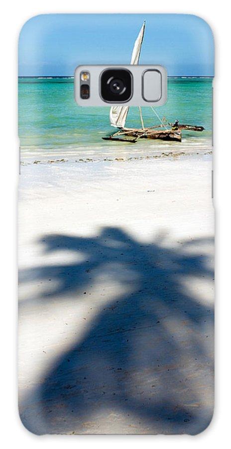 3scape Galaxy S8 Case featuring the photograph Zanzibar Beach by Adam Romanowicz