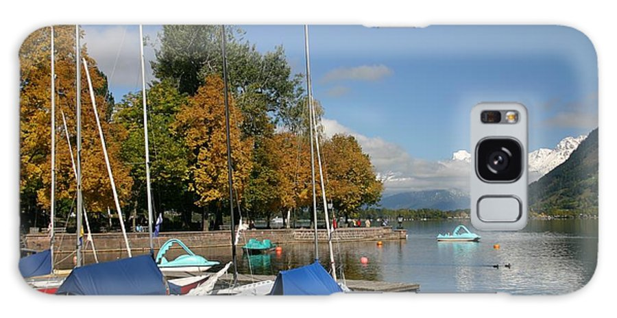 Sail Boats Galaxy Case featuring the photograph Zell Am See The Elements In Austria by Minaz Jantz