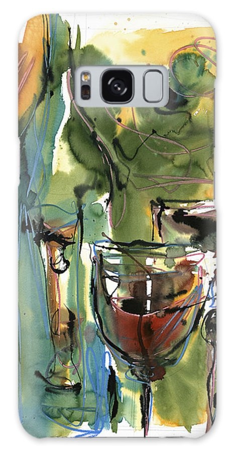 Wine Galaxy S8 Case featuring the painting Zin-findel by Robert Joyner