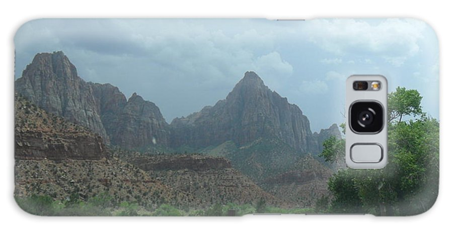 Photography Galaxy S8 Case featuring the photograph Zion National Park 1 by Jocelyn Eastman
