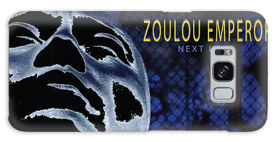 Poster Galaxy Case featuring the photograph Zoulou Emperor by Line Gagne