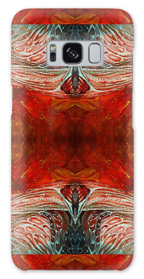 Pattern Galaxy Case featuring the digital art Zulu by Otto Rapp