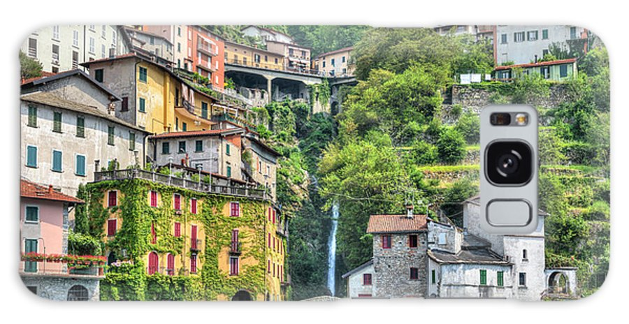 Nesso Galaxy Case featuring the photograph Nesso - Italy 1 by Joana Kruse