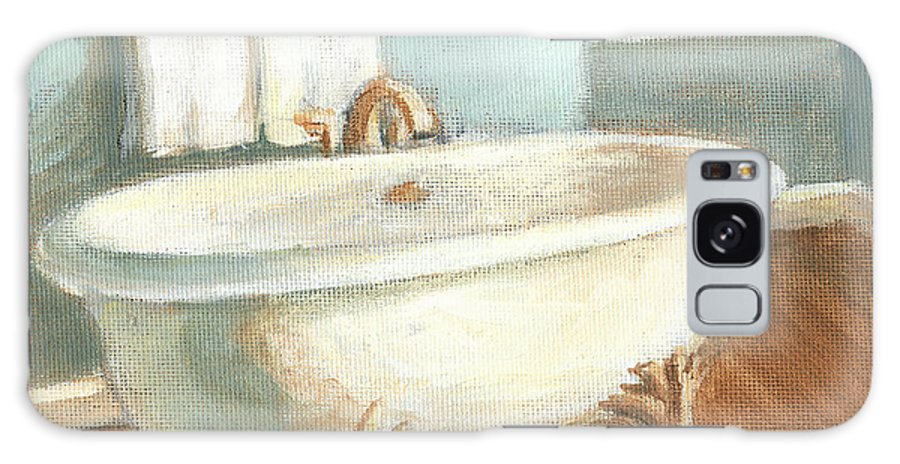 Bath Galaxy Case featuring the painting Porcelain Bath Iv by Ethan Harper
