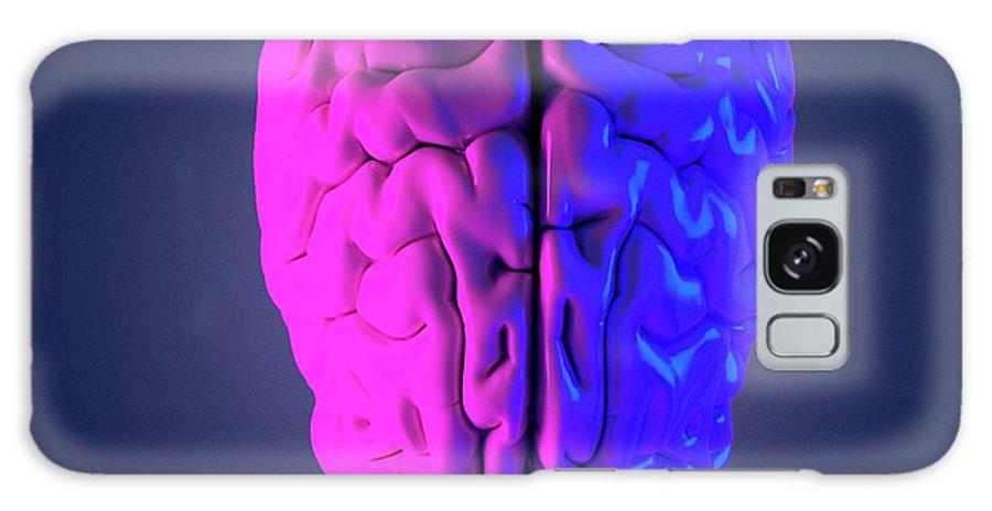 Isolated Galaxy Case featuring the photograph Human Brain by Sebastian Kaulitzki/science Photo Library