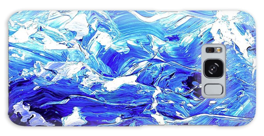 Abstract Galaxy Case featuring the digital art Abstract Map by Linda Mears