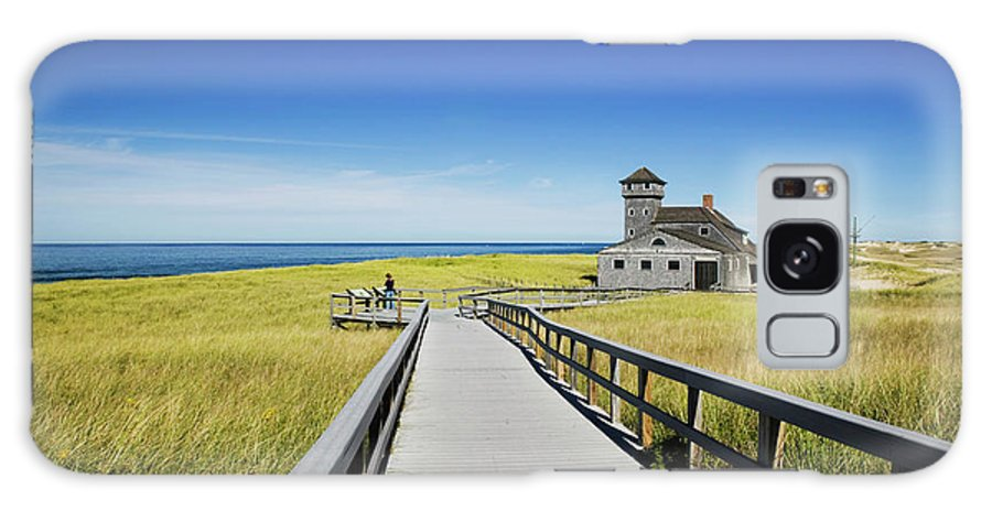 Outdoors Galaxy Case featuring the photograph Usa, Massachusetts, Cape Cod by Walter Bibikow
