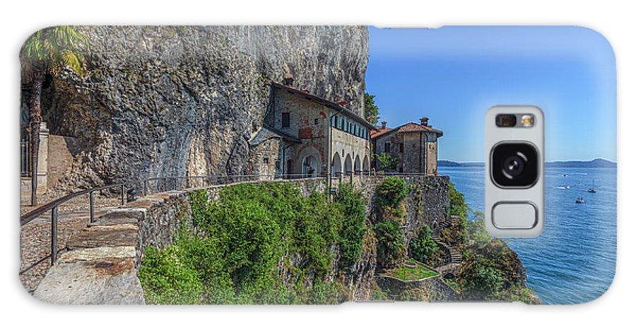 Santa Caterina Del Sasso Galaxy Case featuring the photograph Santa Caterina Del Sasso - Italy by Joana Kruse