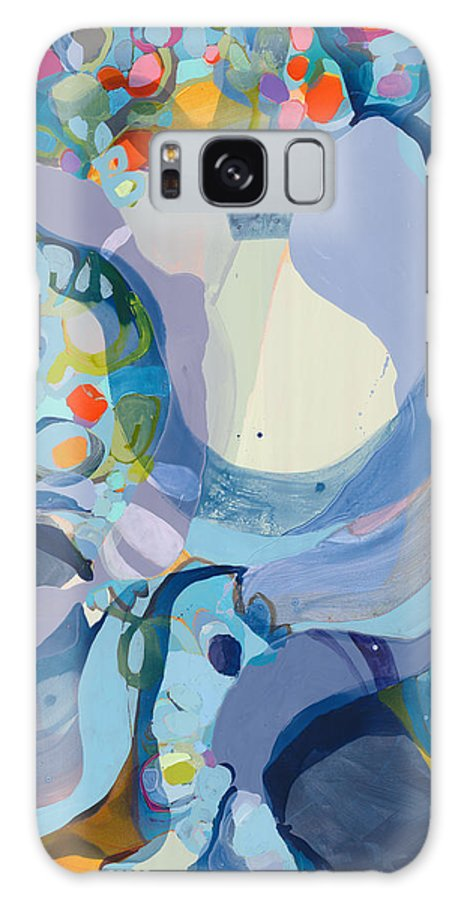 Abstract Galaxy S8 Case featuring the painting 70 Degrees by Claire Desjardins