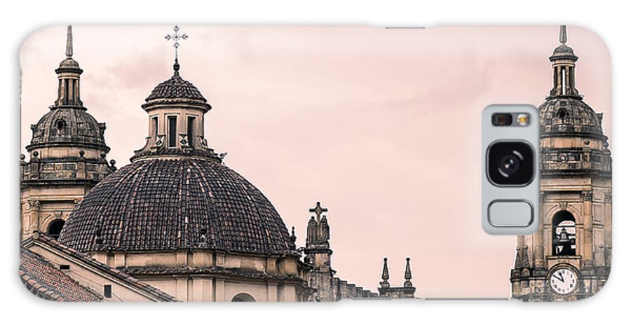 Capital Galaxy S8 Case featuring the photograph A Famous Cathedral In Bogota, Colombia by David Antonio Lopez Moya
