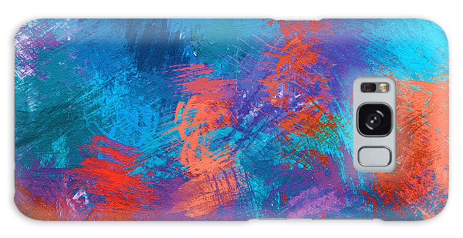Abstract Galaxy S8 Case featuring the painting Abstract - Dwp438638009 by Dean Wittle