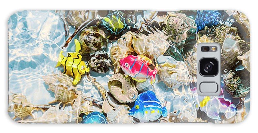 Aquarium Galaxy S8 Case featuring the photograph Artificial Aquarium by Jorgo Photography - Wall Art Gallery