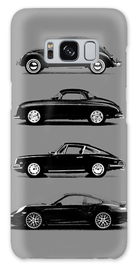 Porsche Galaxy Case featuring the photograph Evolution by Mark Rogan