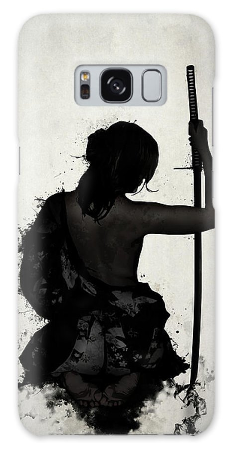 Female Galaxy S8 Case featuring the digital art Female Samurai - Onna Bugeisha by Nicklas Gustafsson