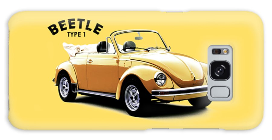 Vw Beetle Galaxy Case featuring the photograph The Beetle 1972 by Mark Rogan