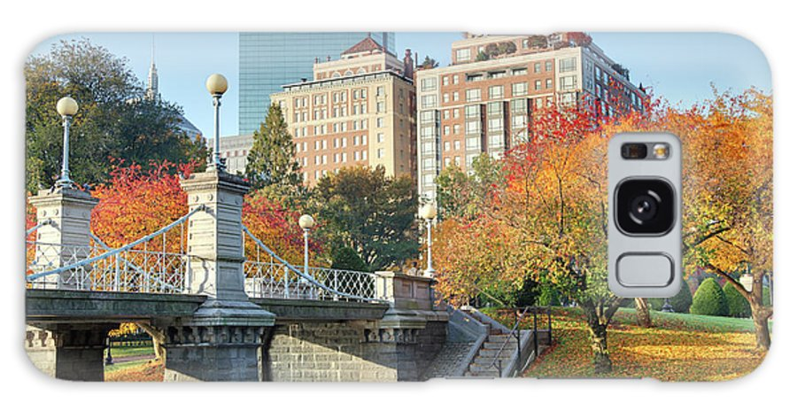 Downtown District Galaxy Case featuring the photograph Autumn In Boston by Denistangneyjr