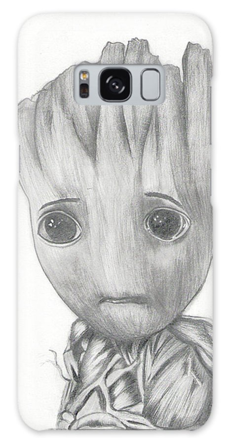 Baby Groot Drawing Galaxy S8 Case For Sale By Madura Venkatachalam