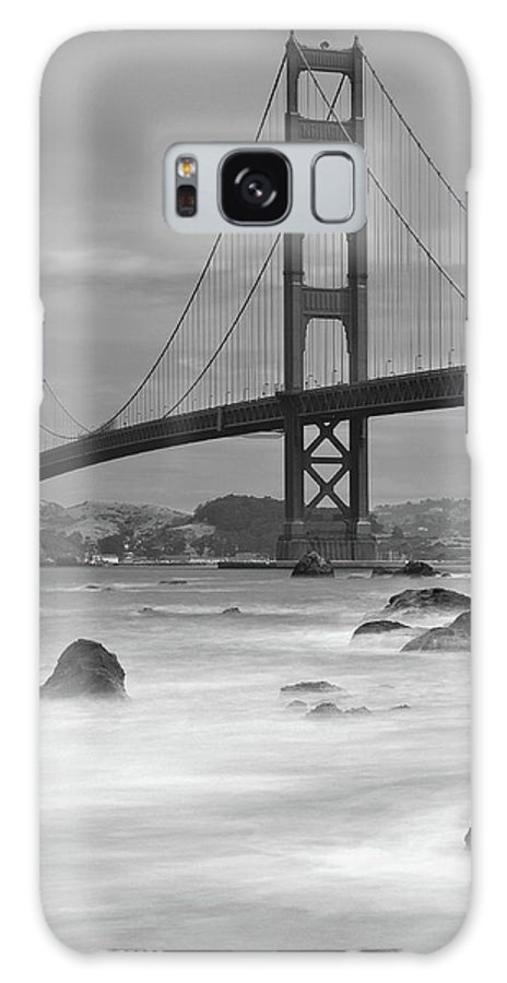 Tranquility Galaxy Case featuring the photograph Baker Beach Impressions by Sebastian Schlueter (sibbiblue)