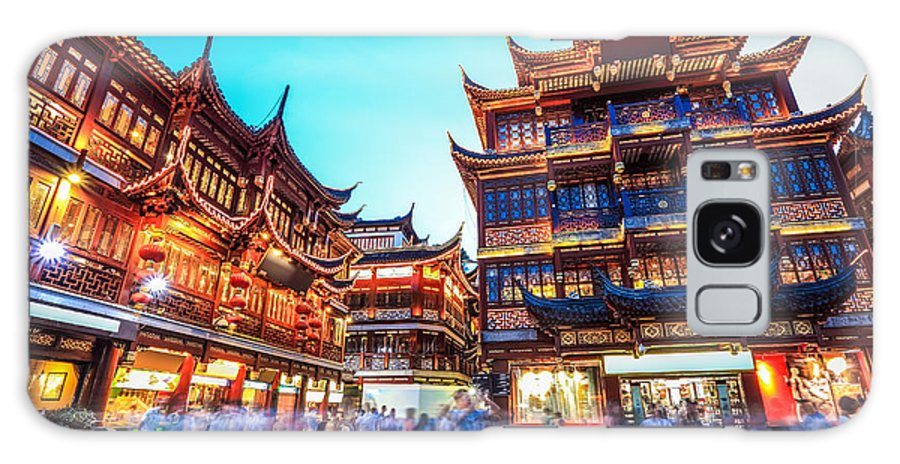 Commercial Galaxy S8 Case featuring the photograph Beautiful Yuyuan Garden At by Chuyuss