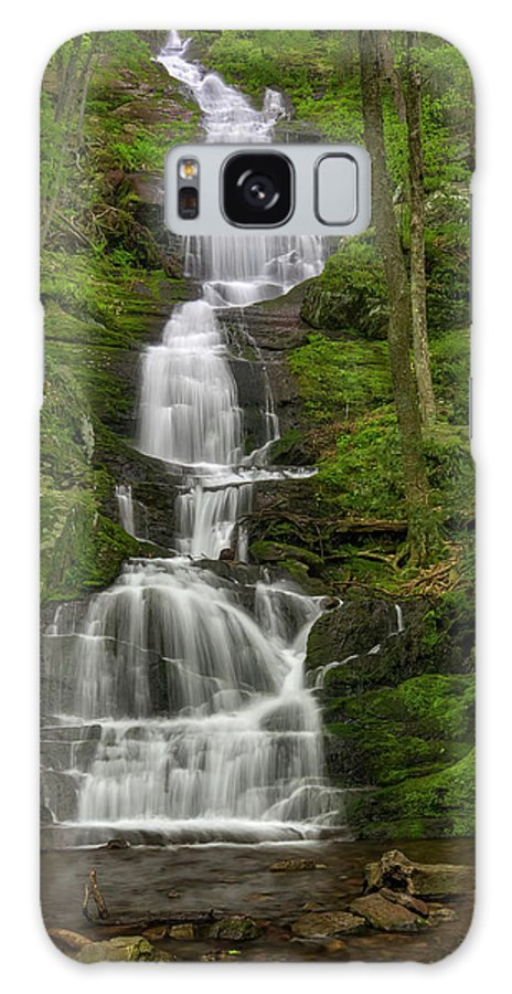 Buttemilk Falls Galaxy S8 Case featuring the photograph Buttermilk Falls by Susan Candelario