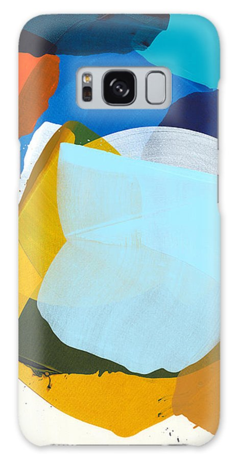 Abstract Galaxy S8 Case featuring the painting California 05 by Claire Desjardins