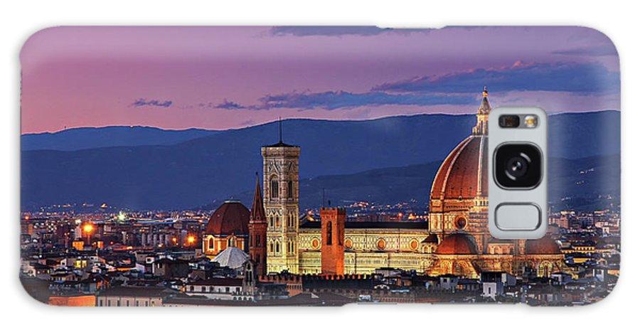 Outdoors Galaxy Case featuring the photograph Cattedrale Di Santa Maria Del Fiore - by Www.matteorinaldi.it