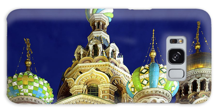Gilded Galaxy Case featuring the photograph Church Of The Resurrection Jesus Christ by Digitalimagination