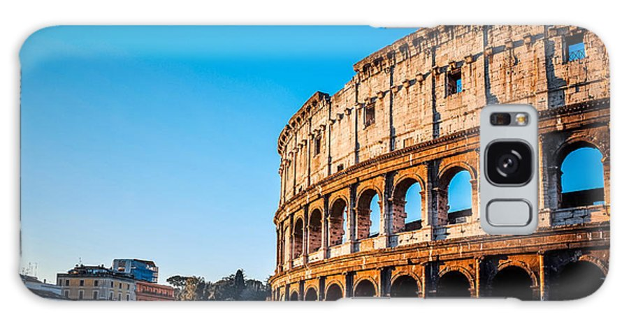 Romans Galaxy S8 Case featuring the photograph Colosseum In Rome In Rome, Italy by Ilolab
