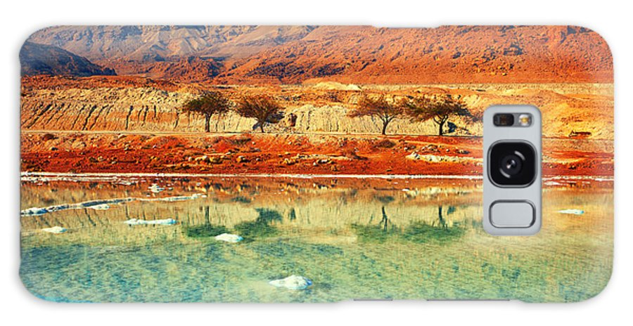 Beauty Galaxy Case featuring the photograph Dead Sea by Vvvita