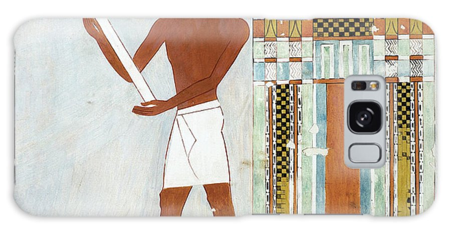 B1019 Galaxy Case featuring the painting Egypt: False Door by Charles K. Wilkinson